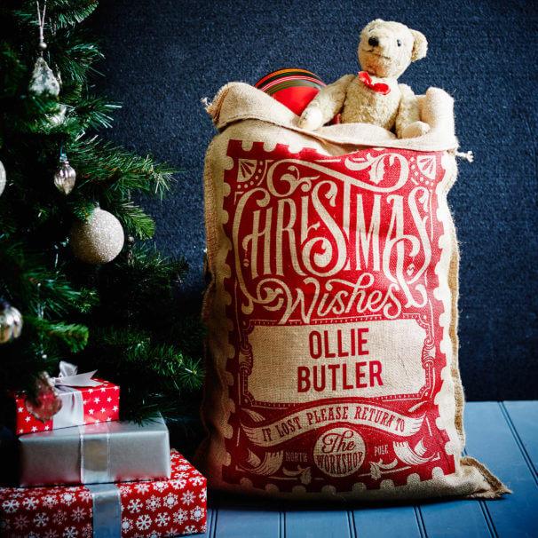 The Red Rowland Christmas Sack