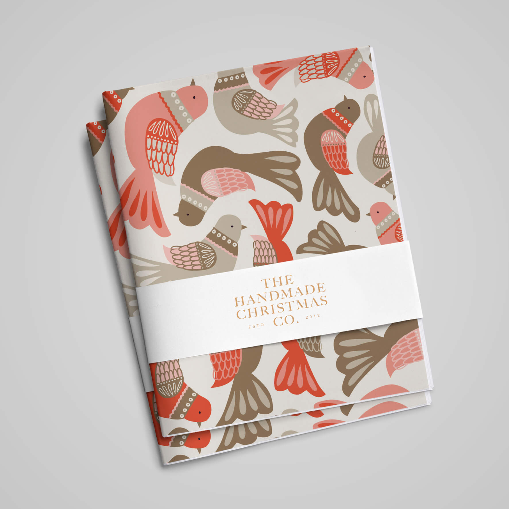 Partridge On A Paper – Luxury Wrapping Paper