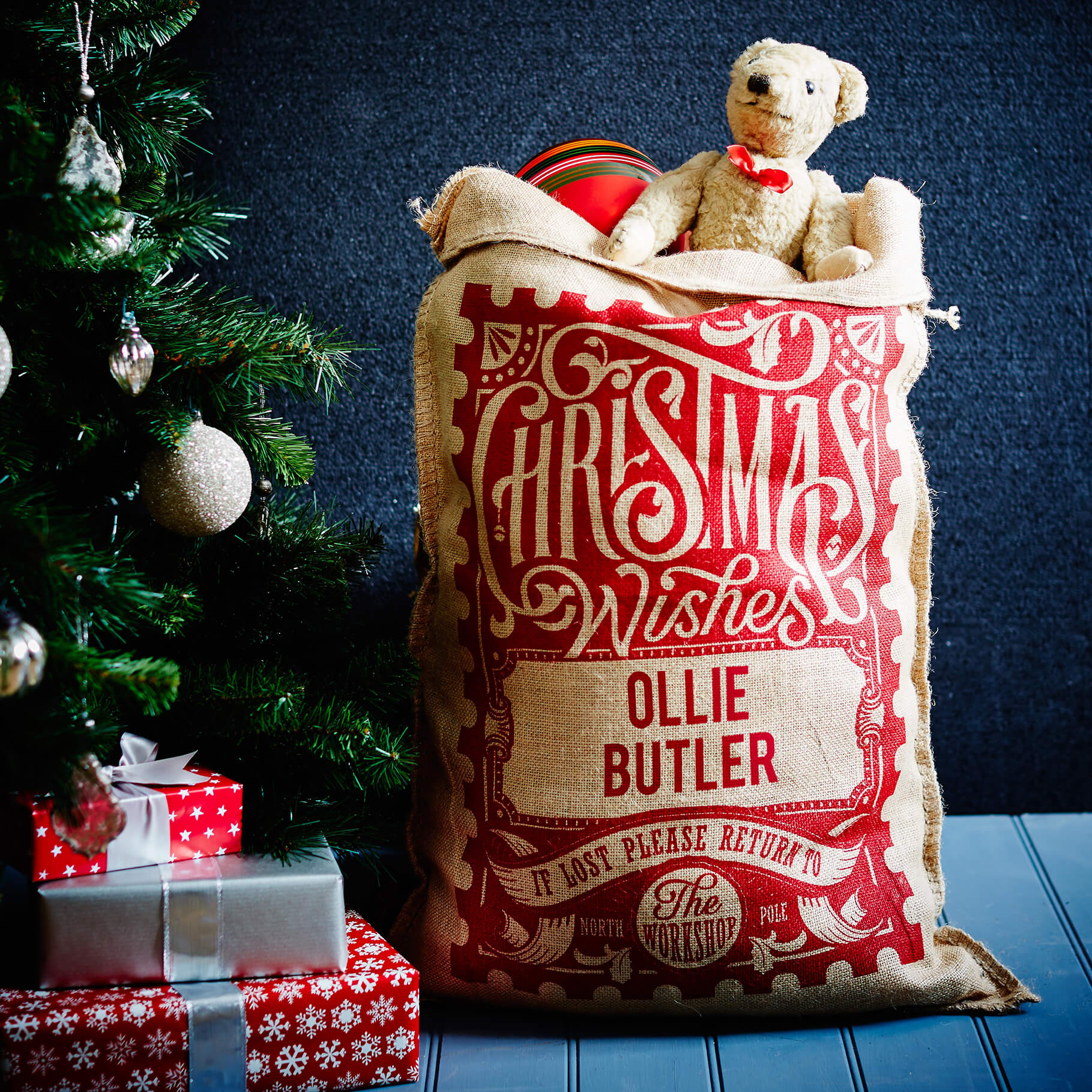 The Red Rowland Christmas Sack