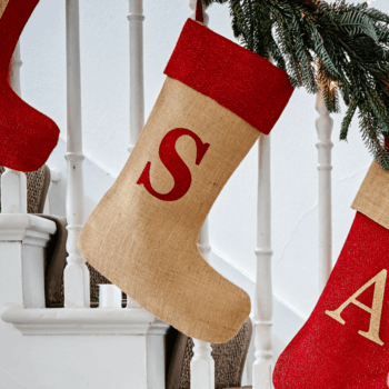 fe93d45e4ea2 Monogrammed Red Glitter Christmas Stocking. Out of stock. ViewPersonalise