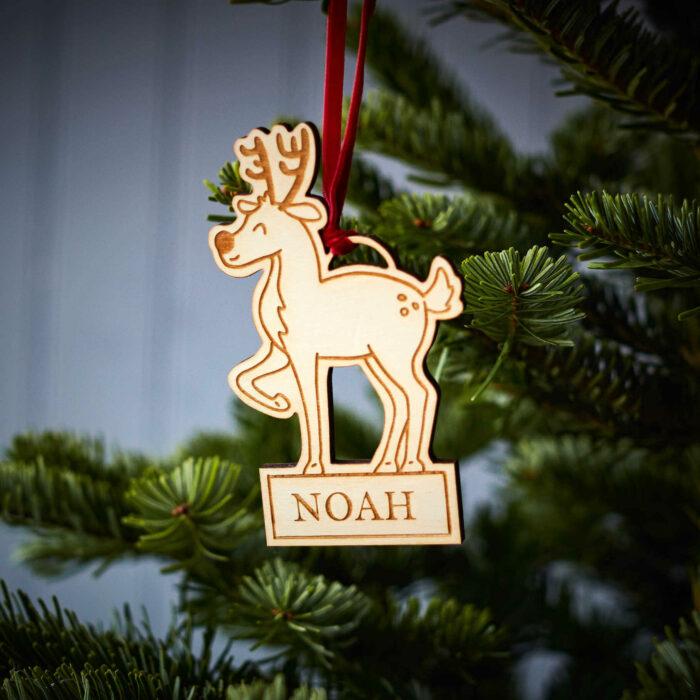 Reindeer Wooden Decoration