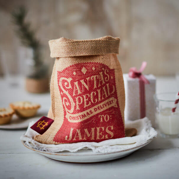 Small Santa Special Christmas Sack