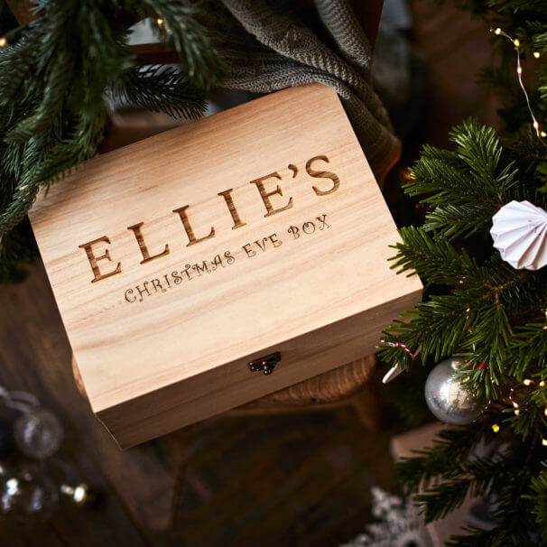 Original Wooden Christmas Eve Box