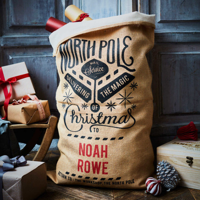 Cotton Lined Grenville Christmas Sack