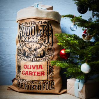 Cotton Lined Whittington Christmas Sack
