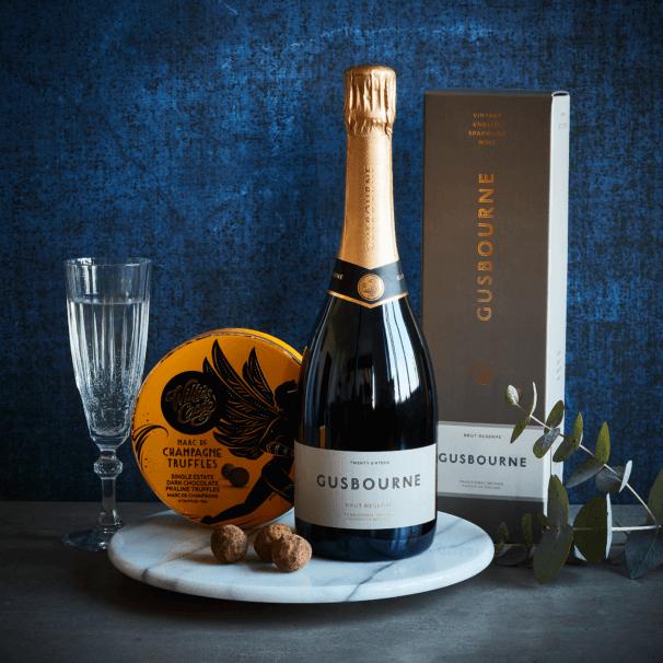 English Bubbles & Champagne Truffles