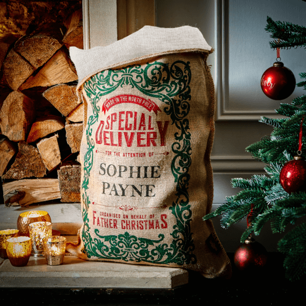 Cotton Lined Robertson Christmas Sack