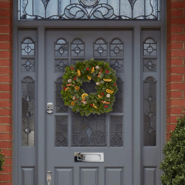Sloane Wreath 50cm